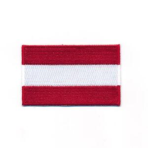 80 x 50 Mm Pologne Drapeau Polska Poland Flag Patch Patch Patch 0660 x