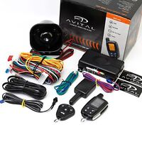 Avital 3305l 2-way Car Alarm Security System & Keyless Entry (replaced 3300l)