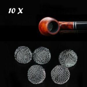 10Pcs-16-19mm-Fumare-Pipes-Metallo-Filtro-Schermo-Tabacco-Tool-Multifunzione