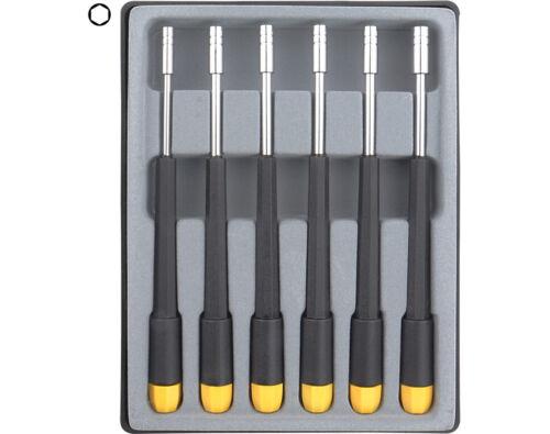 = M1 bis M2 2,0-4,0 mm Sechskant Steckschlüssel Set 6-tlg
