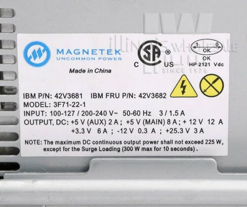 4846-565//4846-545 42V3681 Magnetek Power Supply for IBM SurePOS 500