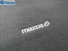 MAZDA 6 SPORT WAGON 2004-2007 NEW OEM GRAY CARPETED CARGO MAT 0000-8B-H32 -A5