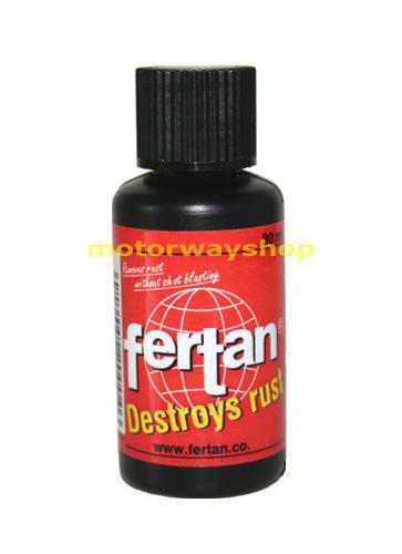 Fertan Rust Treatment Remover Converter 30ml Brush On