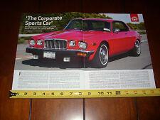 1975 JAGUAR XJ6C - ORIGINAL ARTICLE