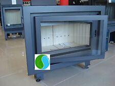 BASA FIREPLACE + free  6,8 - 17 kW INSERT WOOD BURNING CASSETTE INSET STOVE