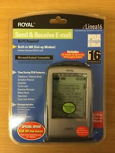 Royal™ eLinea16 PDA with Email - Stylus Touch Screen - New In Package