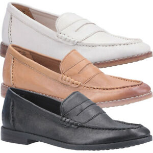 Hush-Puppies-Womens-Wren-Slip-On-Leather-Loafer-Shoes