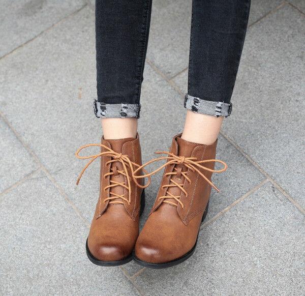 Stiefel elegant Absatz komfortabel 4 cm cm cm braun simil Leder CW794 595024