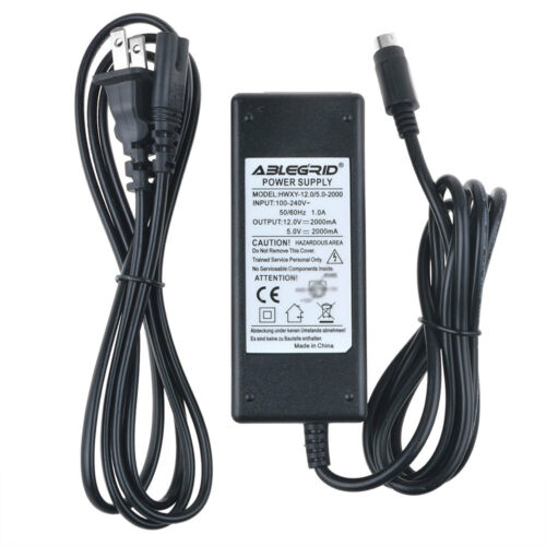 AC Adapter Charger For DA-30C01 ACBEL AD6008 RS-E02AB WD EXTERNAL HDD Power Cord