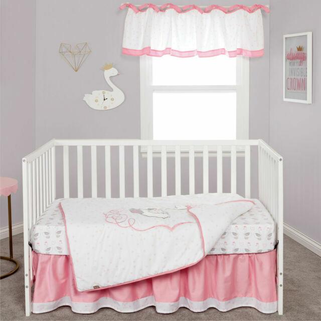 Trend Lab Swans 3 Piece Crib Bedding Set 103054 For Sale Online Ebay