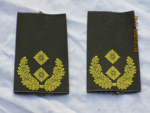 gold//oliv Bw Rangschlaufen Generalmajor