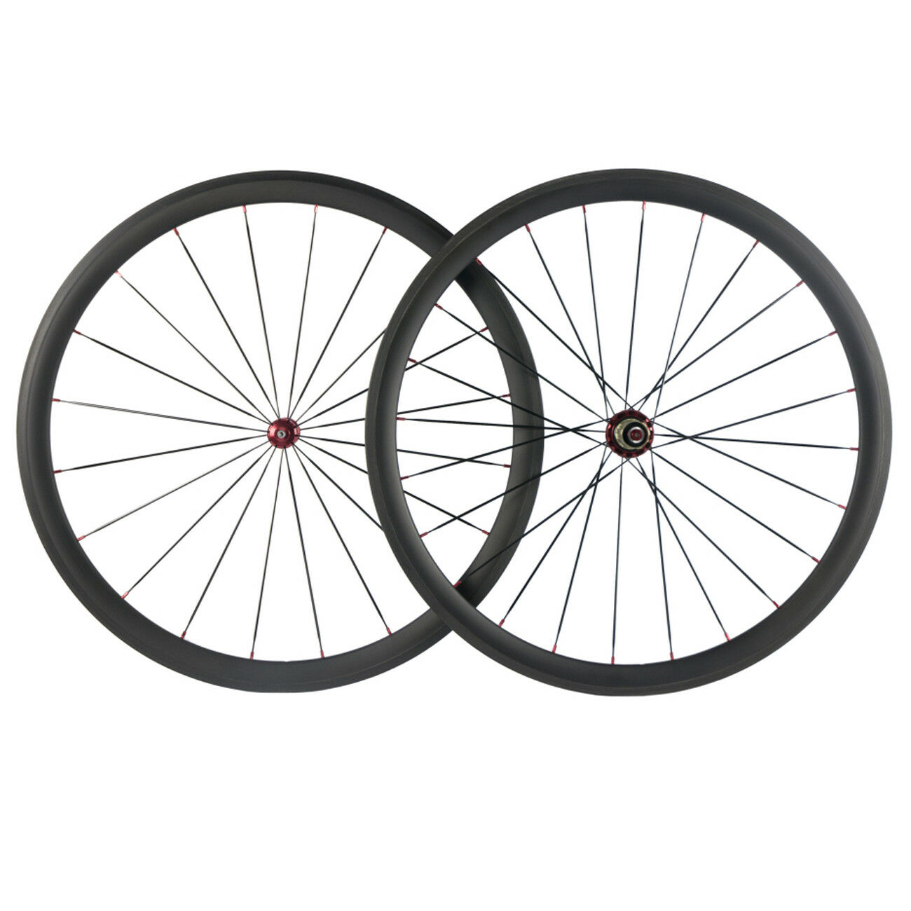 700C Without logo 38mm Carbon  Wheels Racing Road R36 Hub Bicycle Wheels UD Matte  cheap sale