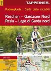 Radwegkarte Reschen - Gardasee Nord 1 : 60.000 (2009, Mappe)