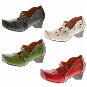 TMA-Damen-Leder-Ballerinas-Comfort-Pumps-echt-Leder-Schuhe-TMA-8766-Gr-36-42