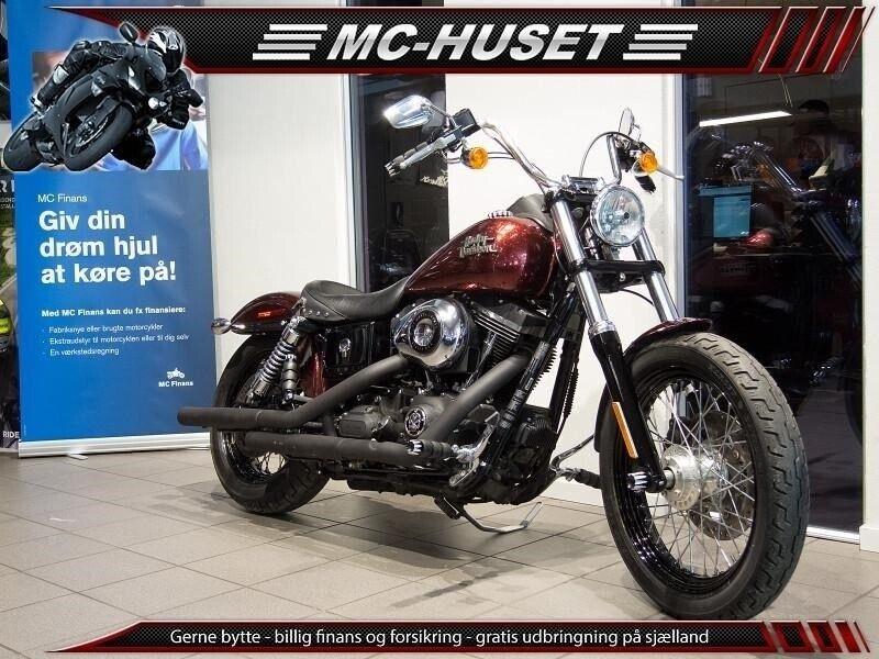 Harley-Davidson, FXDB Dyna Street Bob, ccm