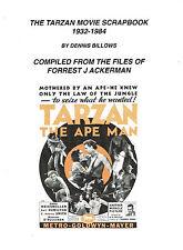 TARZAN MOVIE SCRAPBOOK 1932-84 FJ ACKERMAN FILES CLIPPINGS WEISSMULLER CRABBE+