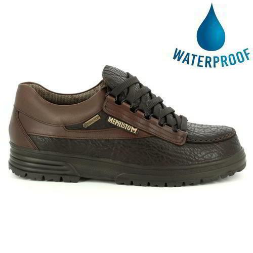 Mephisto Break Gore Mens braun Leather Waterproof Walking Trail schuhe Trainers S