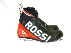 Rossignol-Size-37-5-X-IUM-W-C-Classic-Skate-Ski-Boots-Cross-Country-Black-Red