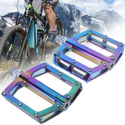 Rainbow MTB Bike Pedal Ultralight Aluminum Alloy Anti-Slip Platform Bearing BMX
