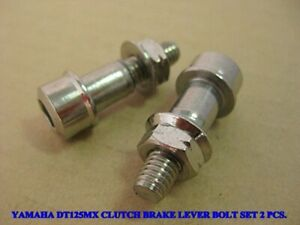 isbridge Replacement Fit For Clutch Or Brake Lever Yamaha ATMX DT1 DT100 DT115 DT125 DT175 RT1 RD125 Chrome Clutch