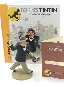 Collection-Officielle-Tintin-Figurine-Tintin-N63-Gibbons-la-Brute