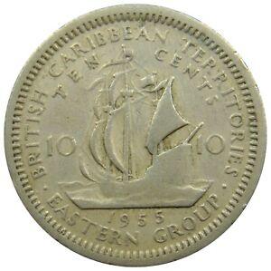(d56) - Ostkaribische Staaten British Caribbean Territories 10, 25 Cents