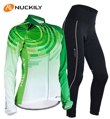 Women long sleeve cycling clothes bicycle cycling jersey/&pant set ciclismo S-XL