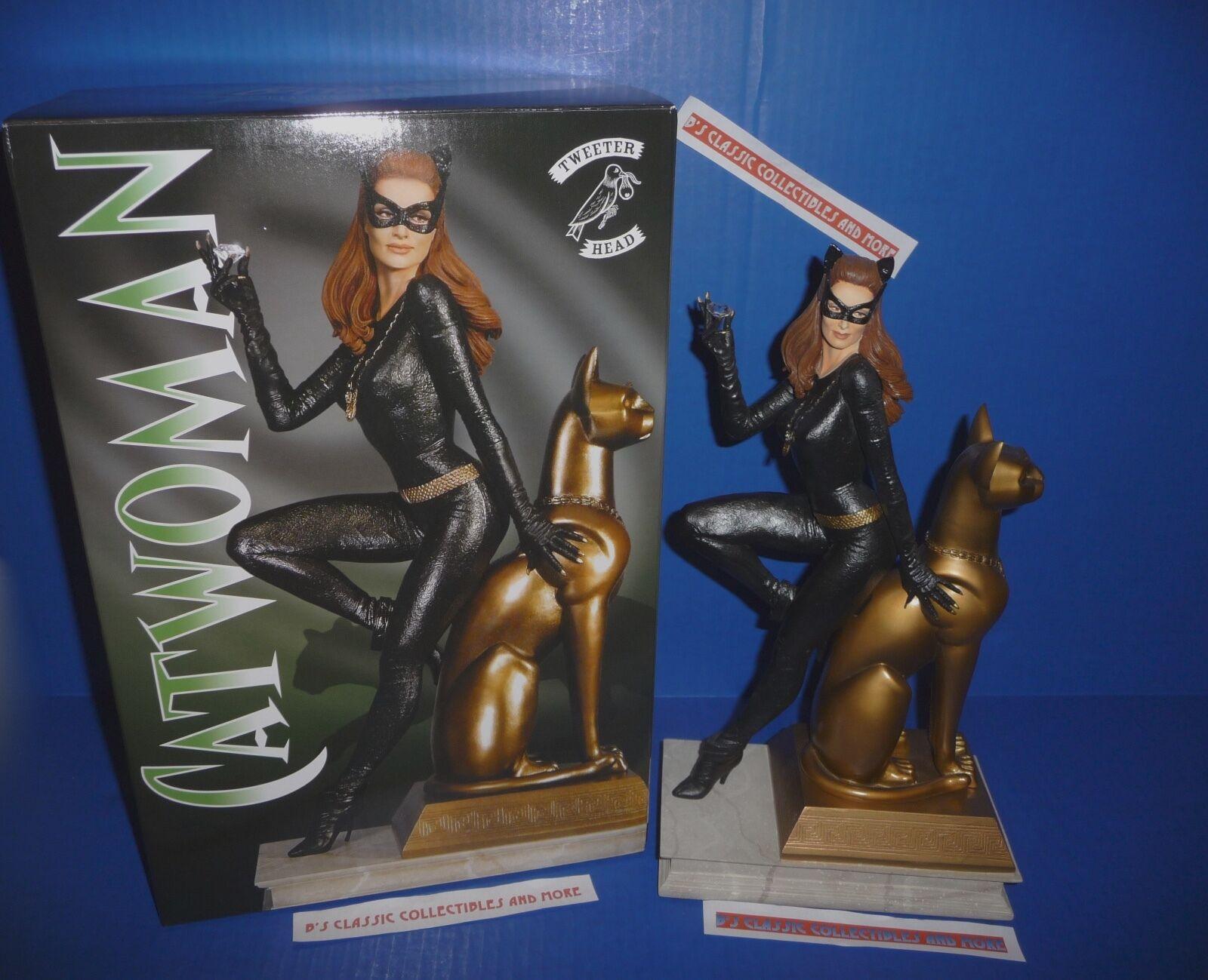 Catwoman Julie Newmar LE Maquette Statue 1966 Batman TV Tweeterhead 1st Release