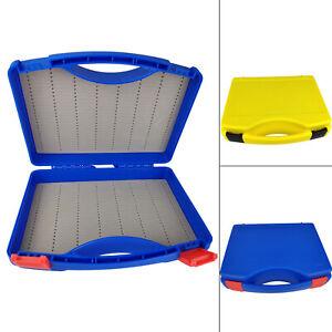 Aventik Super Large Capacity Slim Foam Fly Box Clear Lid Plastic Fishing Box Competition Fishing Hook Tackle Box