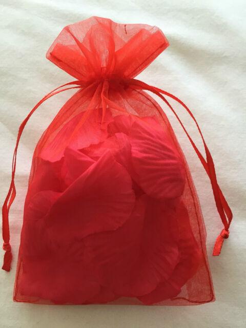 Bag Of Bed Confetti Silk Rose Petals Valentines Day Roses Romantic