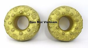 Pair-of-Hmong-Finger-Bell-Rings-Fair-Trade-Percussive-Tribal-Ethnic-Sound