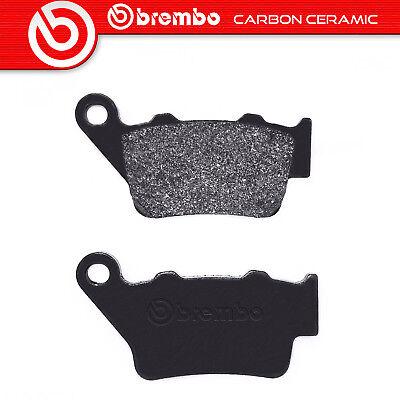 KTM 690 Duke ABS 2012 on Brembo Carbon Ceramic Rear Brake Pads