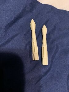 Star Wars SAGA Collection 2002 Republic Gunship Nose Cannon Missile Part Piece