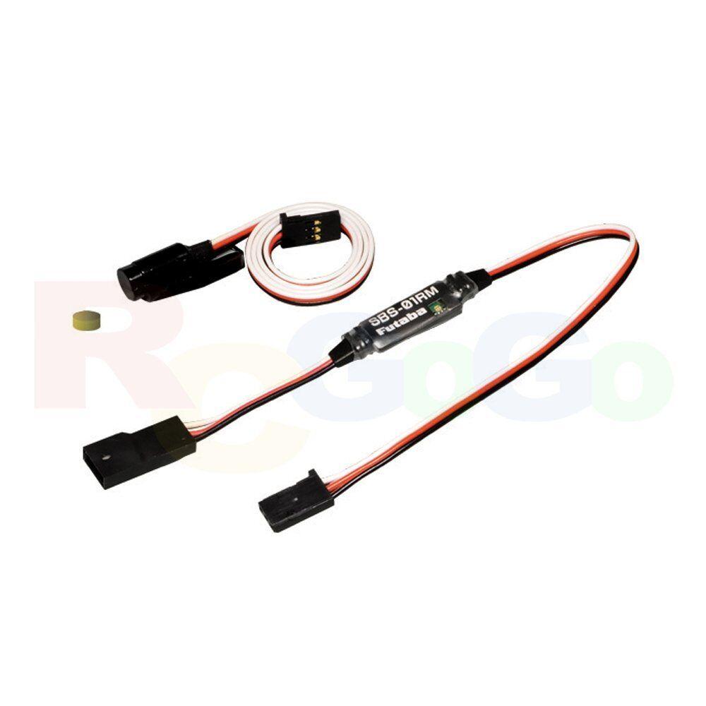 Futaba SBS-01RM Magnetic Rotation RPM Sensor 360~50000rpm Tachometer   EBB1106