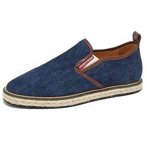 espadrillas 79005 jeans loafer D2 mocassino scarpa uomo DSQUARED CqH5Tq