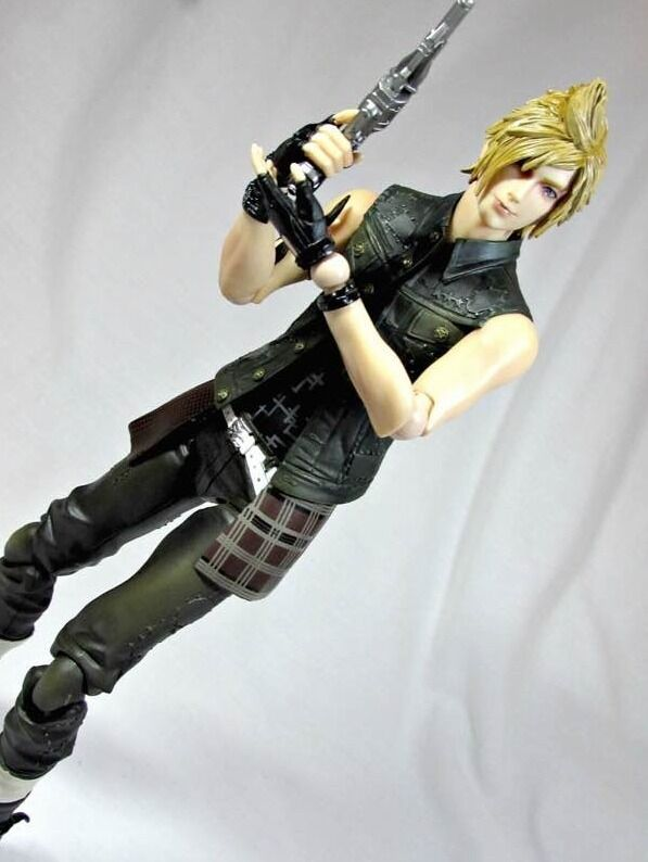 Authentic Play Arts Final Fantasy XV PROMPTO argentoUM Action Figure no box