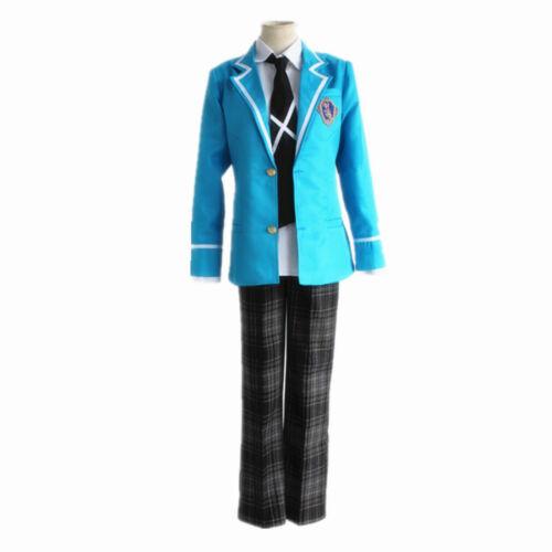 Ensemble Stars Trickstar Hokuto Hidaka Akehoshi Subaru Cosplay School uniform