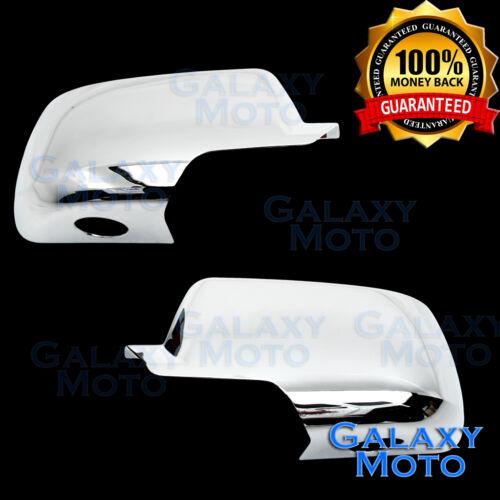 15-17 Chevy Tahoe Triple Chrome Nickel FULL Mirror Cover 17 Rear View a pair