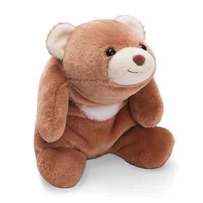 "RETIRED GUND  BEAR - 10""  TAN SNUFFLES - MADE FOR HUGGING -  #4030269"