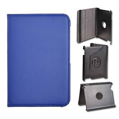 Borsa Custodia Book Case Rotated Per Samsung Galaxy Tab 2 7.0 P3100 Blu Essere Famosi Sia A Casa Che All'Estero Per Una Lavorazione Squisita, Un Abile Lavoro A Maglia E Un Design Elegante