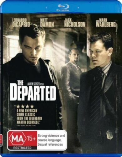1 of 1 - *New & Sealed*  The Departed  (Blu-ray, 2007) GREAT MOVIE!! Region B Australia