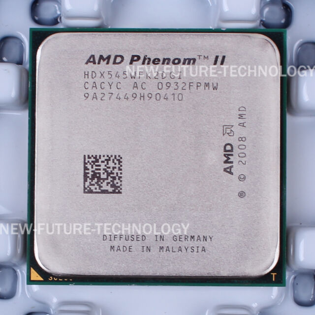 AMD Phenom II X2 545 (HDX545WFK2DGI) Dual-Core CPU 667/3 GHz Socket AM3 100% OK