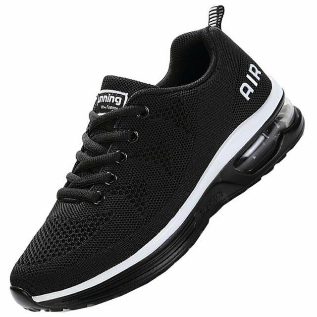 Men/'s Lightweight Air Cushion Running Shoes Sport Shoes Shockproof Sneakers