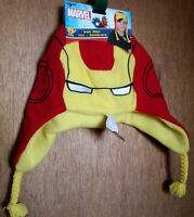 Iron Man Boy Clothes Osfm Super Hero Trapper Cap Hat Avengers Head Accessory