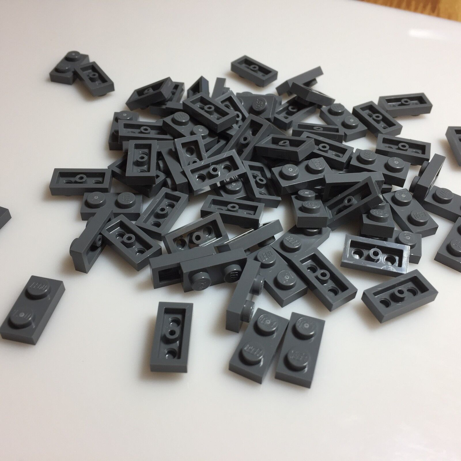 4211088 Brick 3004 LEGO NEW 1x2 Dark Stone Grey Brick 10x