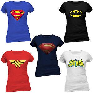 Superman t shirt women sexy