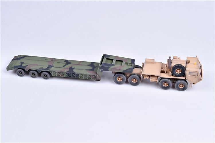 Modelcollect AS72134 - 1 72  USA M983A2 Hemtt Tractor with M870A1 semi-trailer