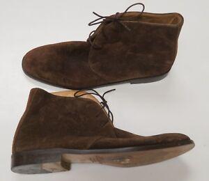 Brooks Brothers Brown Chukka Boots