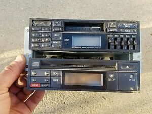 1991 1992 1993 mitsubishi 3000gt dodge stealth oem radio cd cassette mb649764 ebay. Black Bedroom Furniture Sets. Home Design Ideas