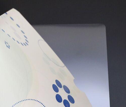 Aktenhüllen blau 10er-Pack DIN A4 Mappe Kunststoff Hülle Sichthülle Acktenecke